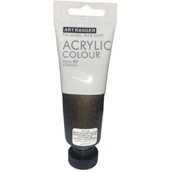 Picture of ACRYLIC CRAFT PAINT 75ML PEARL BLACK