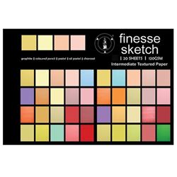 Picture of FINESSE SKETCH PADS 120G 20SHEET (A5, A4, A3, & A2)