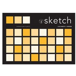Picture of SKETCH PAD 120G A5 40 SHEET (SIZES A5 - A1)